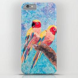 Birds of Colour iPhone Case