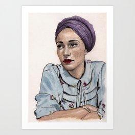 Zadie Smith Art Print