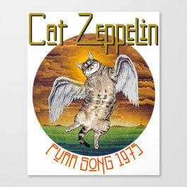 CAT ZEPPELIN Canvas Print
