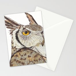 Quintus the Owl Stationery Cards