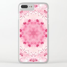 """""""The Suitor's Plea"""" Kaleidoscope 4 by Angelique G. @FromtheBreathofDaydreams Clear iPhone Case"""