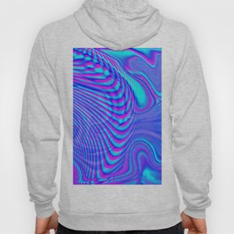 GLITCH MOTION WATERCOLOR OIL Hoody