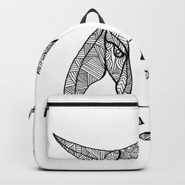 Brahma Bull Head Mandala Backpack