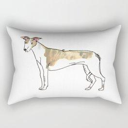 Eli - Dog Watercolour Rectangular Pillow
