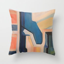 Slices of Ruin Throw Pillow