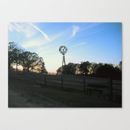 Ranch Sunsets Canvas Print