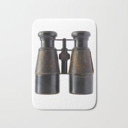 Vintage binoculars Bath Mat
