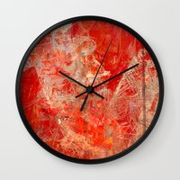 skateboard Wall Clocks featuring Extreme Skateboard by Fernando Vieira
