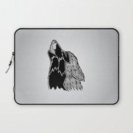 Wolf Illustration Laptop Sleeve