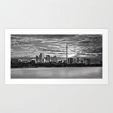 A view of downtown Toronto. Art Print