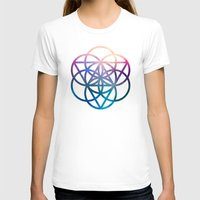 sacred geometry T-shirts featuring Sacred Geometry Universe by Nick Kask Design Co