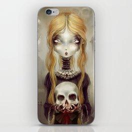 Black Widow by Élian Black'Mor iPhone Skin