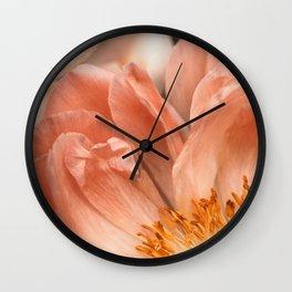 Coral Charm #1 Wall Clock