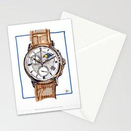 Edox Les Bemonts Moon Phase Live Painting Stationery Cards