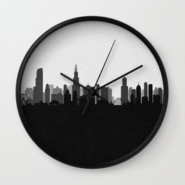 City Skylines: Chicago (Alternative) Wall Clock