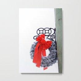 Christmas Wreath2 Metal Print