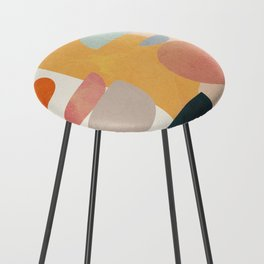 Modern Abstract Art 70 Counter Stool