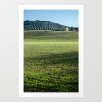 Light and Nature Art Print