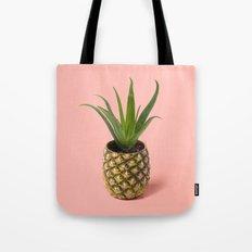 Pineapple Cactus pot Tote Bag