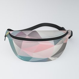 Polygon abstract 1 Fanny Pack