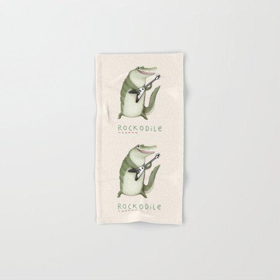Rockodile Hand & Bath Towel