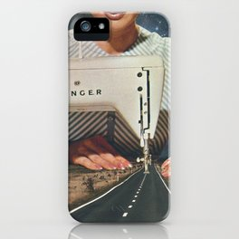 This is how a road gets made iPhone Case