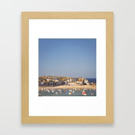 St Ives Harbour. Framed Art Print