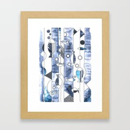the daily creative project: fish, fish, fish Framed Art Print