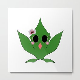 Cute Hemp Masot : Ruderalis 麻 (Asa) Metal Print