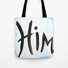 Him - watercolor Tote Bag