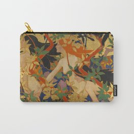 DIANA AND HER NYMPHS - ROBERT BURNS Carry-All Pouch