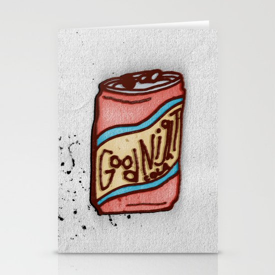 GOODNIGHT COLA Stationery Cards
