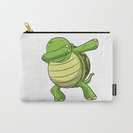 Dabbing Turtle Shirt Turtles Tortoise Dab Kids Carry-All Pouch