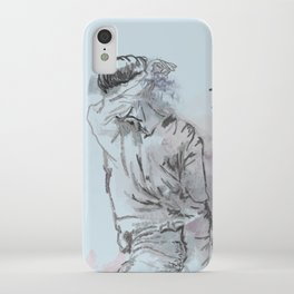 Don't Wanna Cry iPhone Case