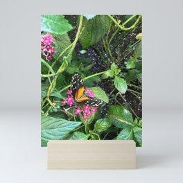 Black and Orange Beauty #4 Mini Art Print