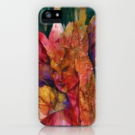 Fire Fairy by Kathy Morton Stanion iPhone Case