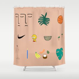 WWA Shower Curtain