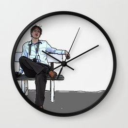 """Let's kill Dave."" Wall Clock"