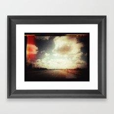your street Framed Art Print