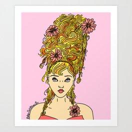 Flower Girl II Art Print