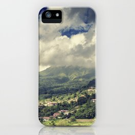 Mt. Pelee, Martinique iPhone Case