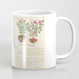 Ancient Plant Watercolour illustration Coffee Mug