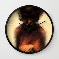 afro Wall Clocks featuring AFRO by Marian - Claudiu Bortan