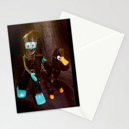 ninja gumby and ninja pokey Stationery Cards