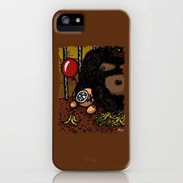 La cage du gorille iPhone Case