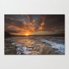Oahu Sunset Canvas Print