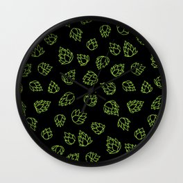 Hopcone Pattern Wall Clock
