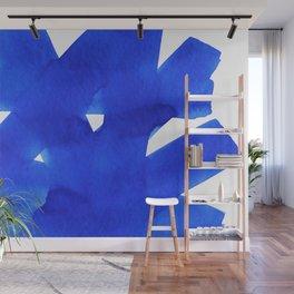 Superwatercolor Blue Wall Mural