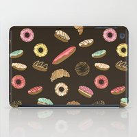 donuts iPad Cases featuring Donuts by Julia Badeeva