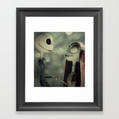 Take My Hand (Nightmare Before Christmas) Framed Art Print